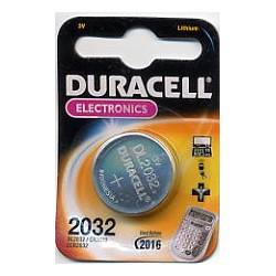 DURACEL BATTERIA A BOTTONE AL LITIO CR2032/DL2032/