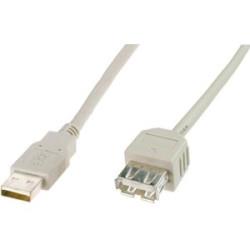 CAVO PROLUNGA USB 2.0 A-A 2,0MT M/F
