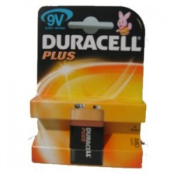 DURACELL PILA 9V 6LR61 MN1604 PLUS