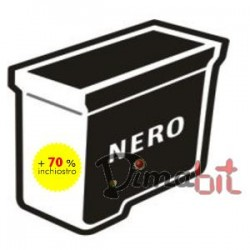 REFILL CART.COMP.BROTHER NERO #LC970-1000 BK