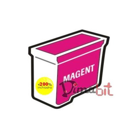 REFILL CART.COMP.BROTHER MAGENTA LC-970 LC-1000