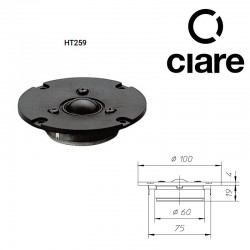 CIARE HT259 TWEETER DOME 26MM   8OHM 120V