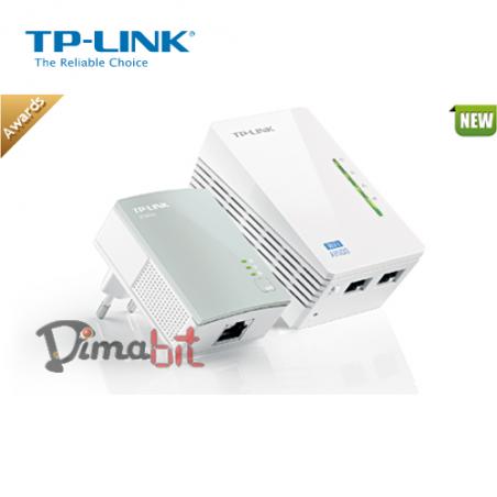 TP-LINK TL-WPA4220KIT KIT POWERLINE  500MPS WI-FI