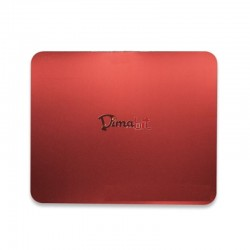 MOUSE PAD X LASER -ULTRASLIM ROSSO -ADERENTE