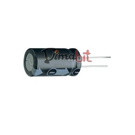 CONDENSATORE ELETTROLITICO 120UF 450V 105°C VERT.
