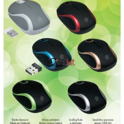 MOUSE WIRELESS METAL COLOR MEDIACOM