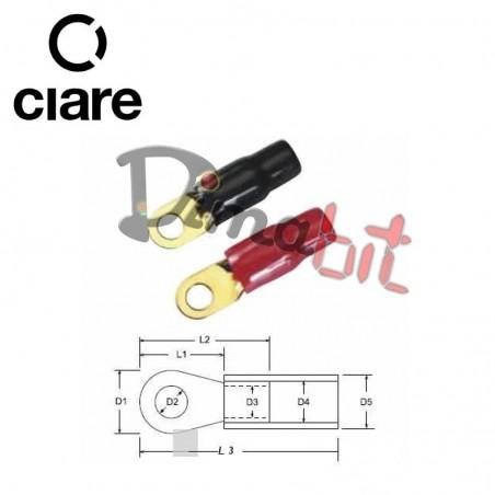 CIARE TERMINALE OCCHIELLO 22X13 (CP) YCT418