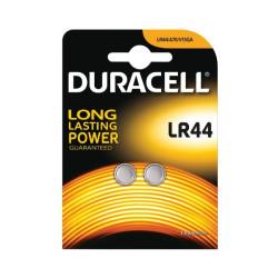 DURACELL 2 LR44 BATTERIA A BOTTONE 1.5V (V13A A76)