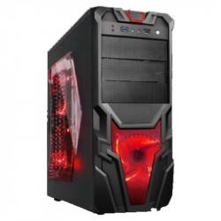 ALANTIK CASE GAMING ATLAS ATX  190X420X430 RED
