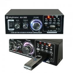SKYTRONIC AMPLIFICATORE STEREO 2X40W 103.142 FM MM