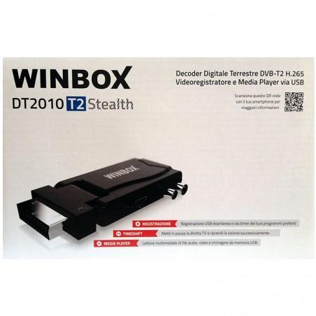 WINBOX DT2010 T2 STEALTH DECODER DVB-T2 HEVC