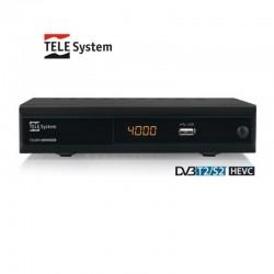 TELESYSTEM DECODER TS4000 DBV-T2 /S2 HEVC 21005234