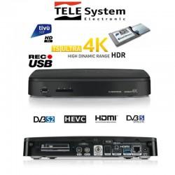 TELESYSTEM DECODER TS ULTRA 4K COMBO T2/S2 HEVC C