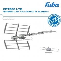 FUBA ANTENNA UHF 470-790 18ELEMENTI FU DAT800LTE