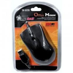 OFFICE MOUSE USB BLACK, TRUSTECH COD.11522