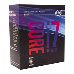 INTEL CPU SK1151 I7-8700 3.2GHZ 12MB HEXACORE BOX.