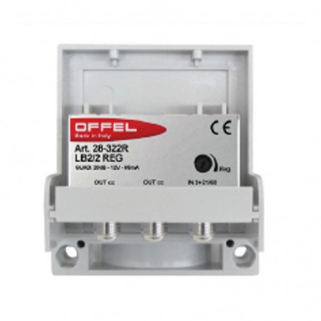 OFFEL LB2/2REG AMPLIFICATORE 3+21/60 20DB REG.109