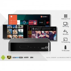 TELE SYSTEM TS UP 4K RIC.DIG.IP COMBO ANDROID BOX