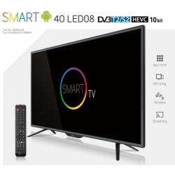 TELESYSTEM TV SMART40 LED08 DVB-T2/S2 HEVC HD WIFI