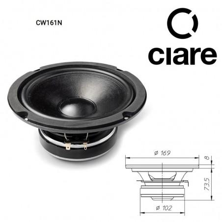 CIARE CW161N WOOFER 6.5 165MM 4 OHM 180W