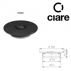 CIARE HT261 TWEERT 26MM DOME 8 OHM  200W