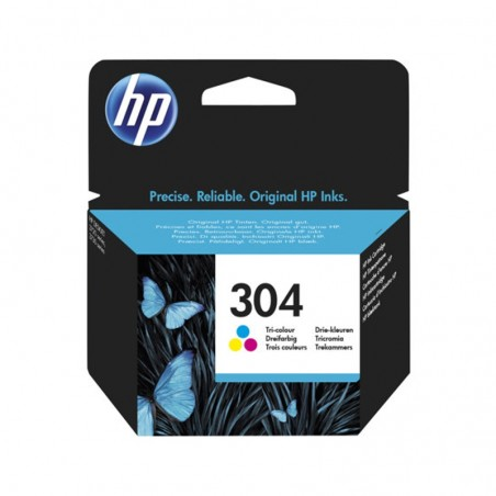 HP 304 CARTUCCIA COLORI PER AMP 130; DESKJET 26XX,