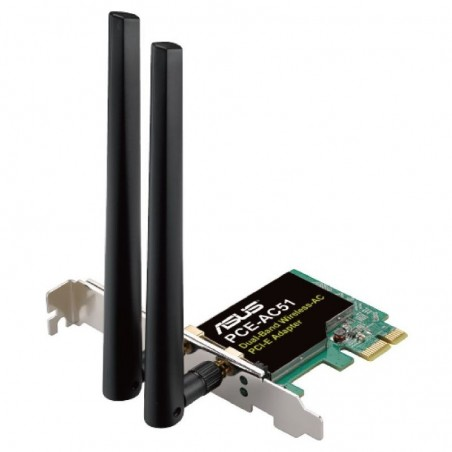 ASUS PCE-AC51 ADATTATORE PCI-E DUAL-BAND WIRELESS-