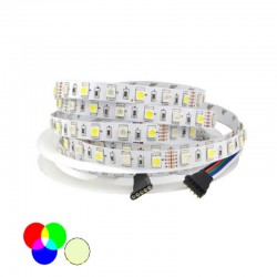 V-TAC STRISCIA 300 LED MULTICOLORE RGB E NAT.5MT
