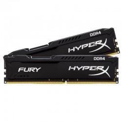 KINGSTON FURY BLACK KIT 2X4=8GB 2666MHZ DDR4 DIMM