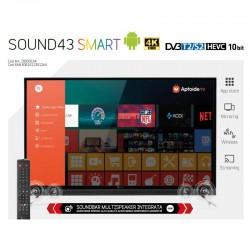 TELESYSTEM LED TV SOUND43 SMART4K 28000154
