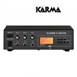 KARMA SA 450USB AMPLIFICATORE 30W MP3 12V E 220V