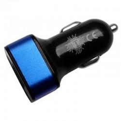 CARICABATTERIE DA AUTO 2 PORTE USB 2,1A MAX ELEGAN