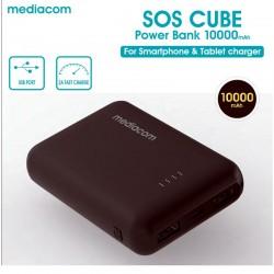 SOS CUBE POWER BANK 10000MAH  M-PB100RCB