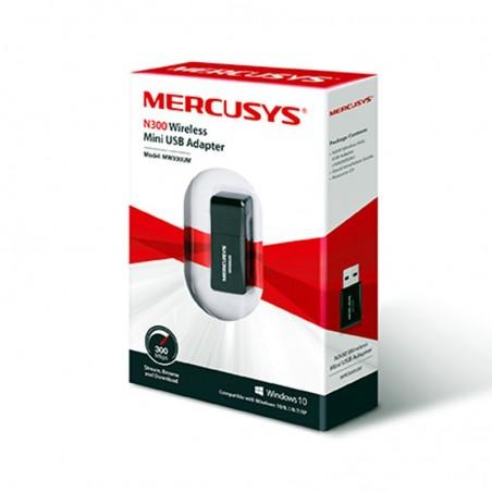 MERCUSYS MINI SCHEDA WIRELESS N300 USB