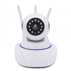 TELECAMERA IP CAM HD WIRELESS LED IR LAN MOTORIZZ.