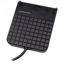 MEDIACOM LETTORE SMART CARD USB 2.0   M-SCR05B