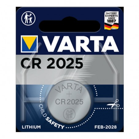 VARTA CR2025 BATTERIA AL LITIO