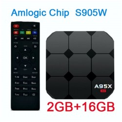 ANDROID TV BOX 7.1 4K RAM 2GB ROM 16GB WIFI 2.4GHZ