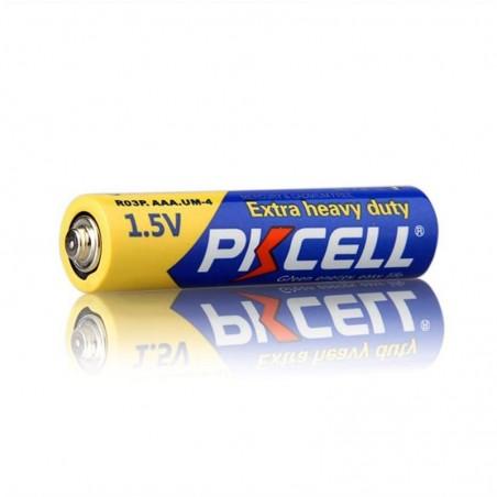 BATTERIA PKCELL AAA R03P 1.5V EXTRA HEAVY DUTY 1PZ