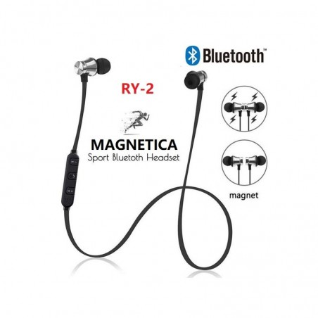 CUFFIA BLUETOOTH WIRELESS SPORT HEADSET CON MICROF