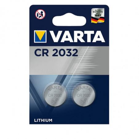 VARTA PILA BLISTER 2PZ LITIO CR2032