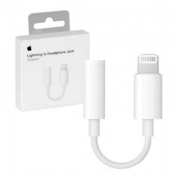 APPLE ADATTORE DA LIGHTNING A JACK CUFFIE 3,5MM OR