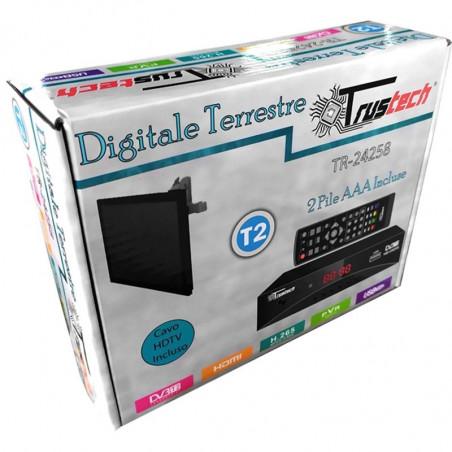 DECODER DIGIT.TERR. DVB-T2 TV-SCART-HDMI PVR
