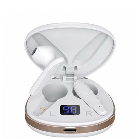 AURICOLARI WIRELESS BLUETOOTH V5.0 X19