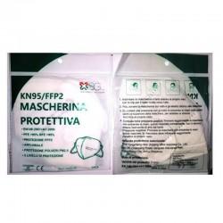 MASCHERINA PROTETTIVA FFP2  ANTI-VIRALE 5 STRATI