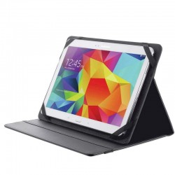 TRUST CUSTODIA FOLIO CON SUPPORTO PER TABLET NERO