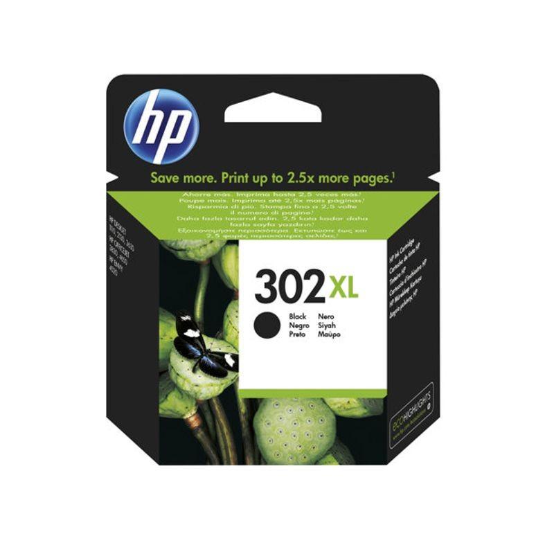 HP CARTUCCIA ORIGINALE 302XL NERO
