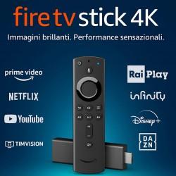 FIRE TV STICK 4K ULTRA HD CON TELECOMANDO VOCALE