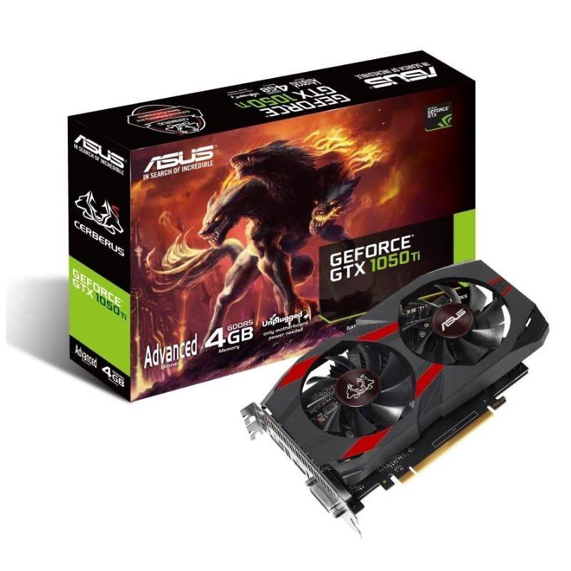 ASUS CERBERUS GTX1050TI-4G SCHEDA SVGA PCI-E 4GB