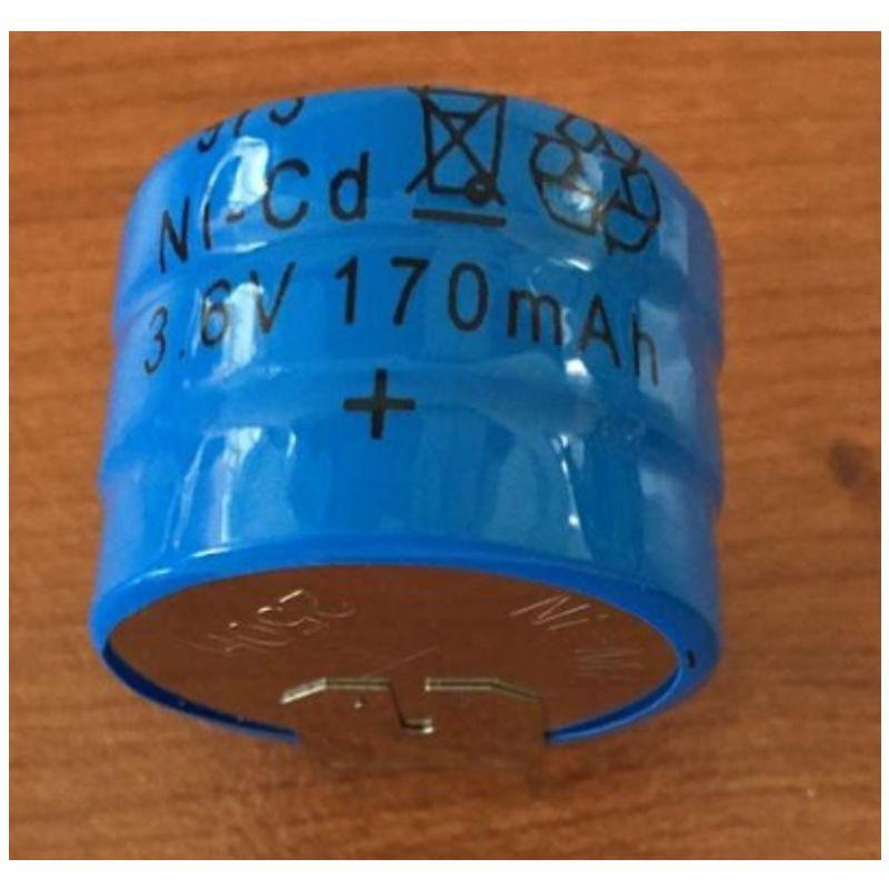 BATTERIA NI-CD PER C.S. 3,6V 170MAH (TONDA)